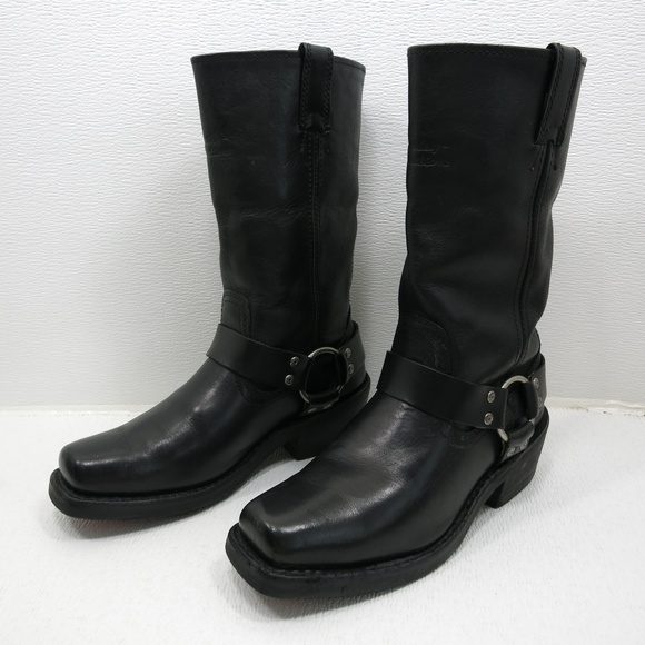 06c5303b2a6 Harley Davidson Biker Harness Boots Black 6.5 Mens